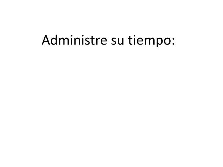 Administre