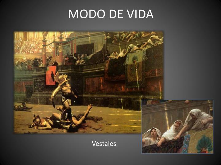 MODO DE VIDA