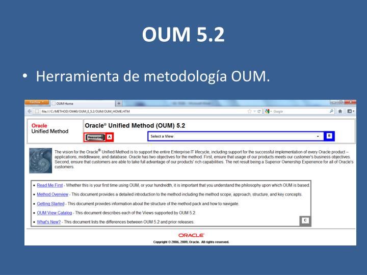 OUM 5.2