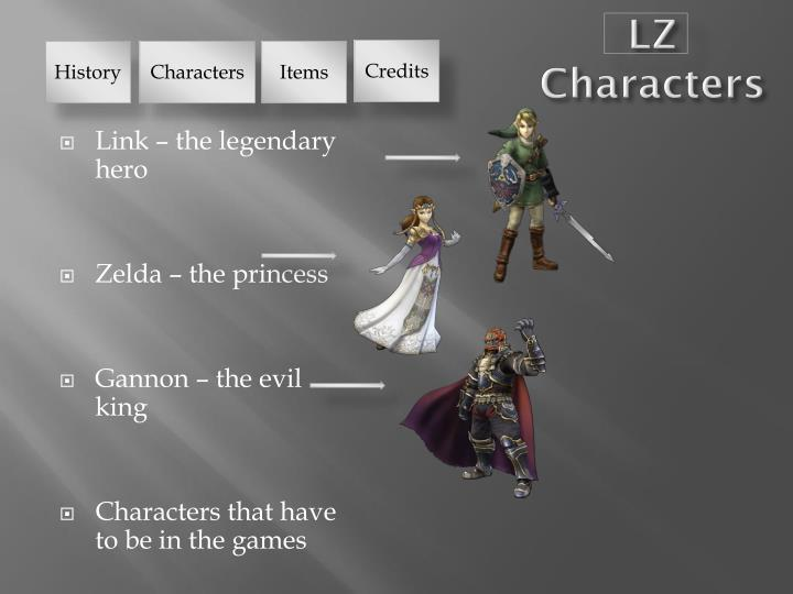 LZ Characters
