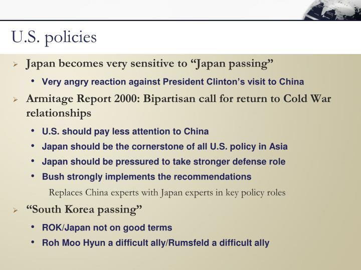 U.S. policies