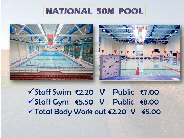NATIONAL  50M  POOL
