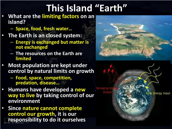 "This Island ""Earth"""