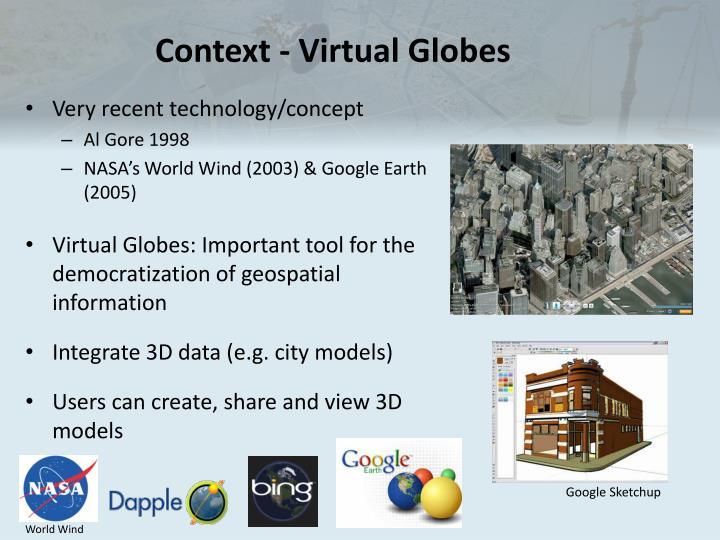 Context - Virtual Globes