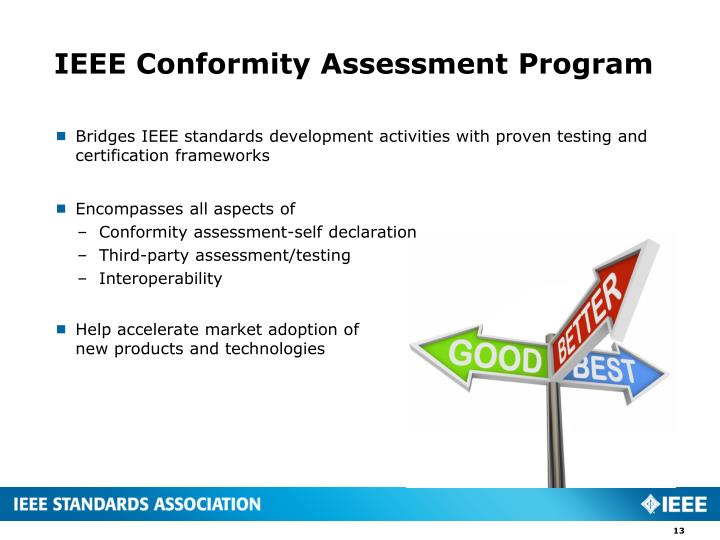 IEEE Conformity Assessment Program