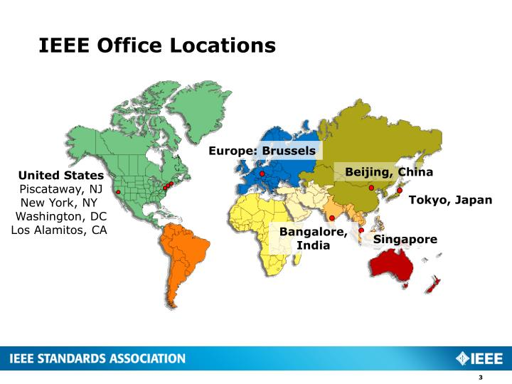 IEEE Office Locations