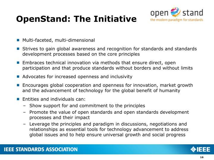 OpenStand: The Initiative