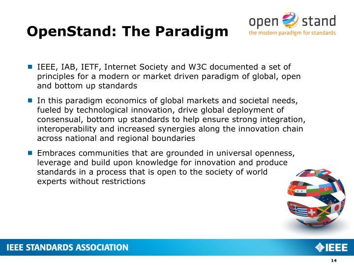 OpenStand: The Paradigm