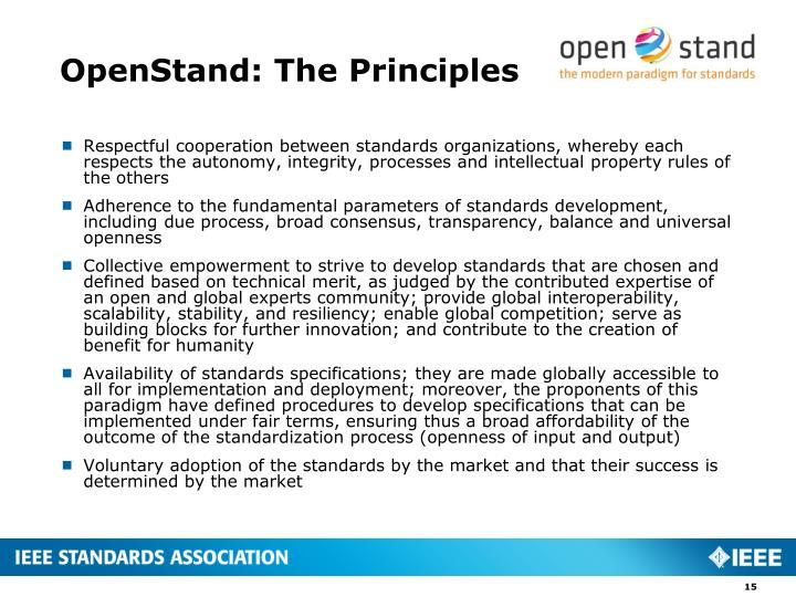OpenStand
