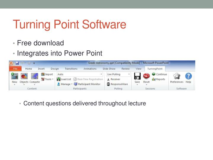 Turning Point Software