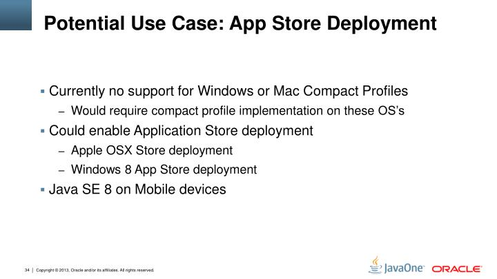 Potential Use Case: App Store Deployment