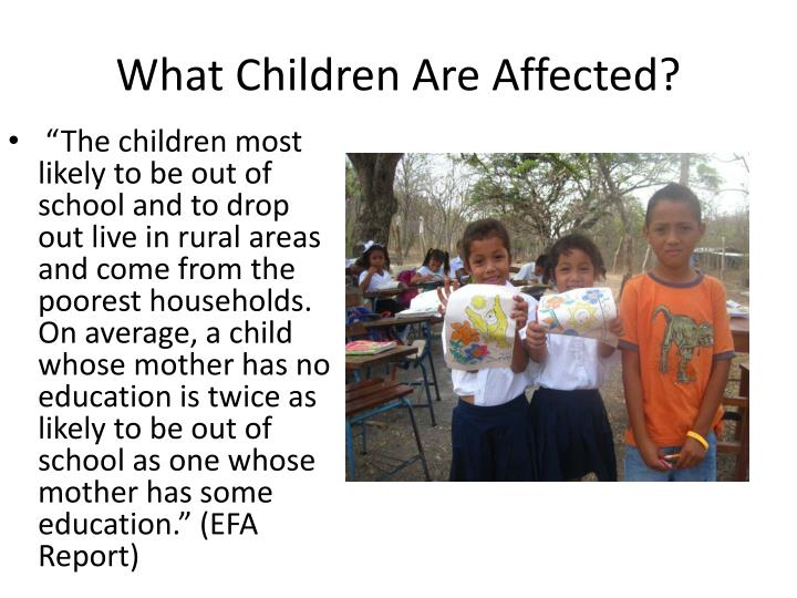 What Children Are Affected?