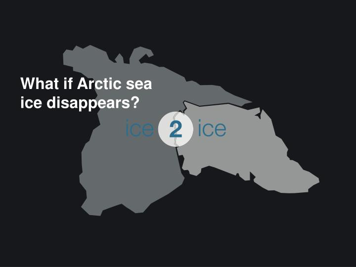 What if Arctic sea ice disappears?