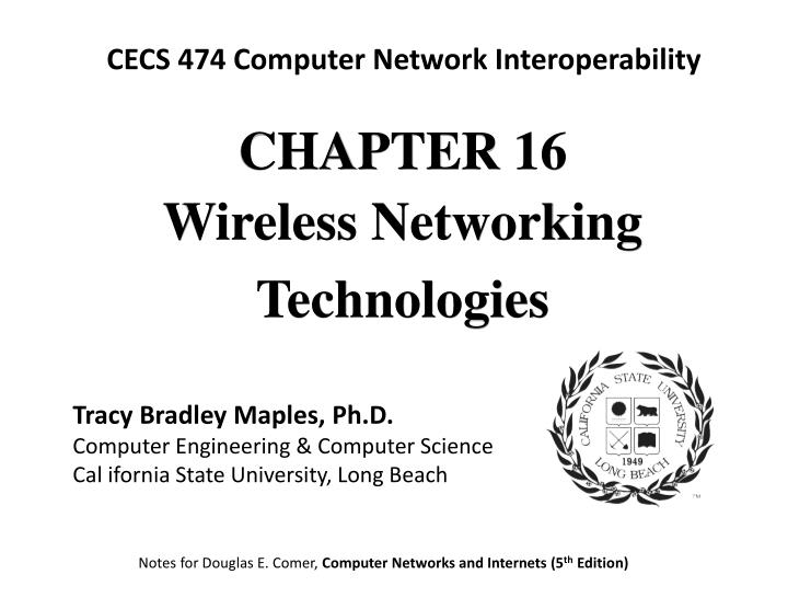 CECS 474 Computer Network Interoperability