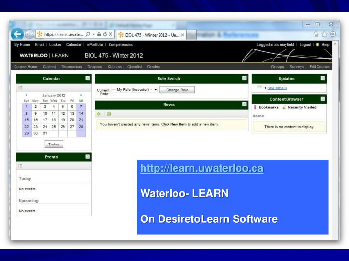 http://learn.uwaterloo.ca