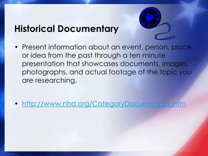 Historical Documentary