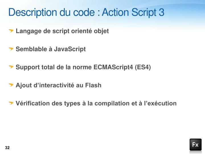 Description du code