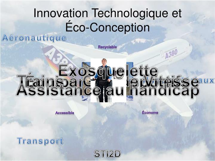 Innovation Technologique et