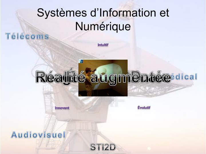 Systèmes d'Information et Numérique
