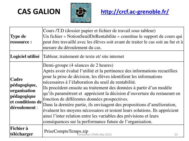 CAS GALION