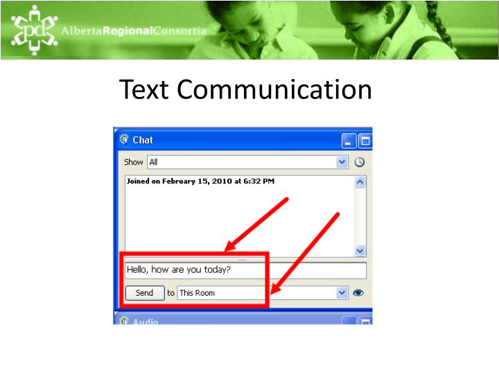 Text Communication