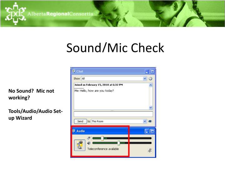 Sound/
