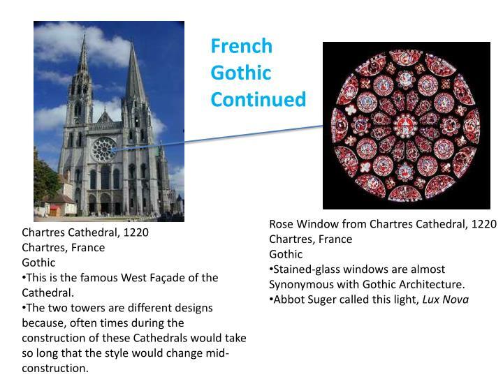 French Gothic