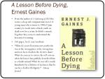 a lesson before dying ernest gaines