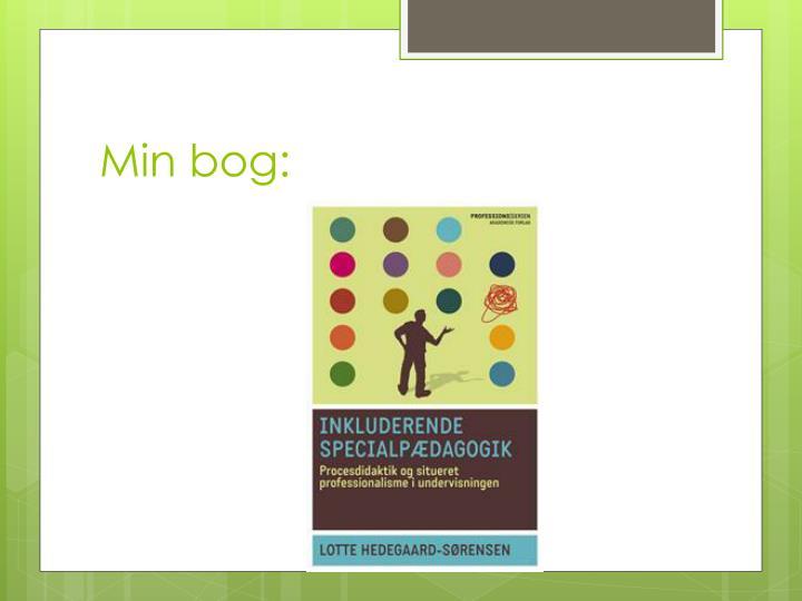 Min bog: