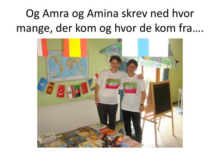 Og Amra og