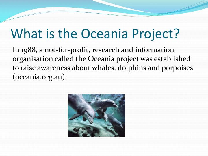 What is the oceania project