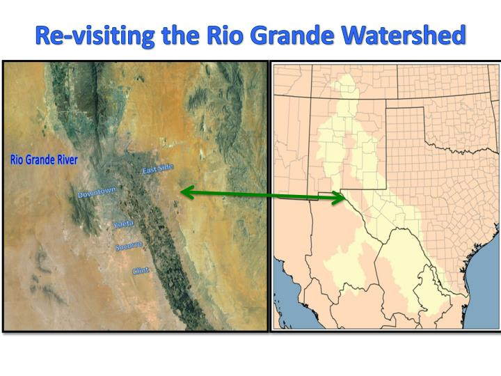 Re-visiting the Rio Grande Watershed