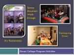 disney college program activities