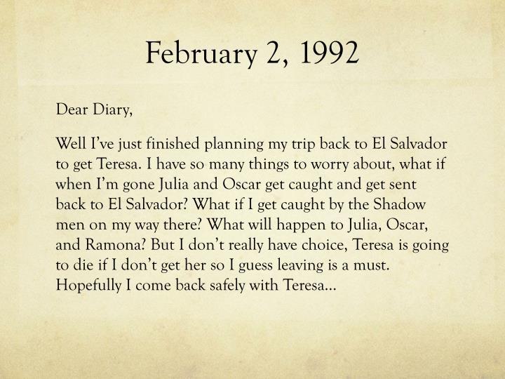 February 2, 1992