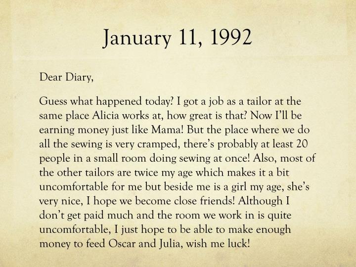 January 11, 1992