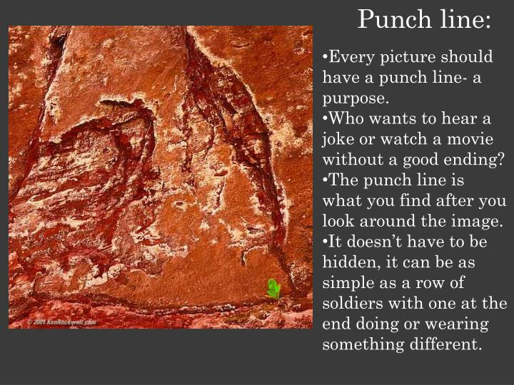 Punch line: