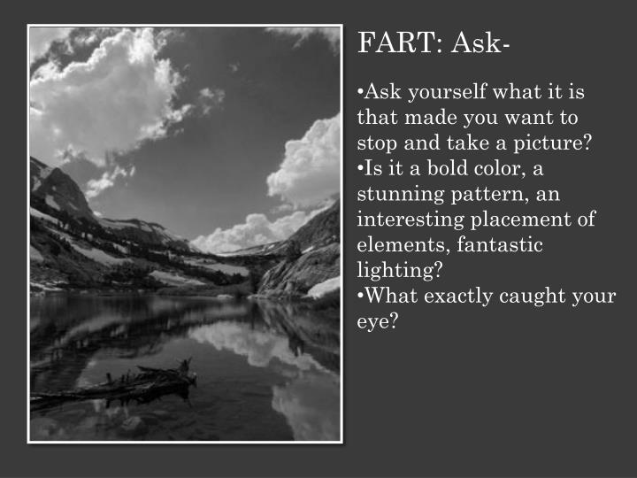 FART: Ask-