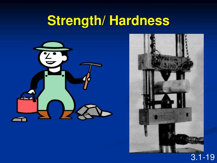 Strength/ Hardness