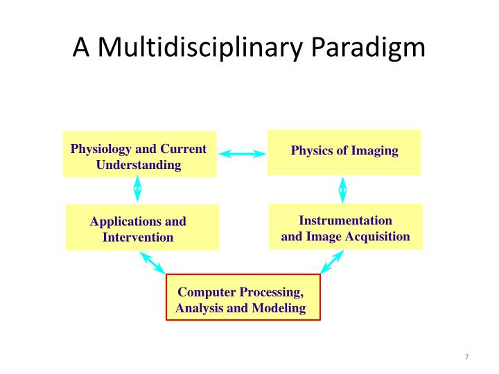 A Multidisciplinary Paradigm