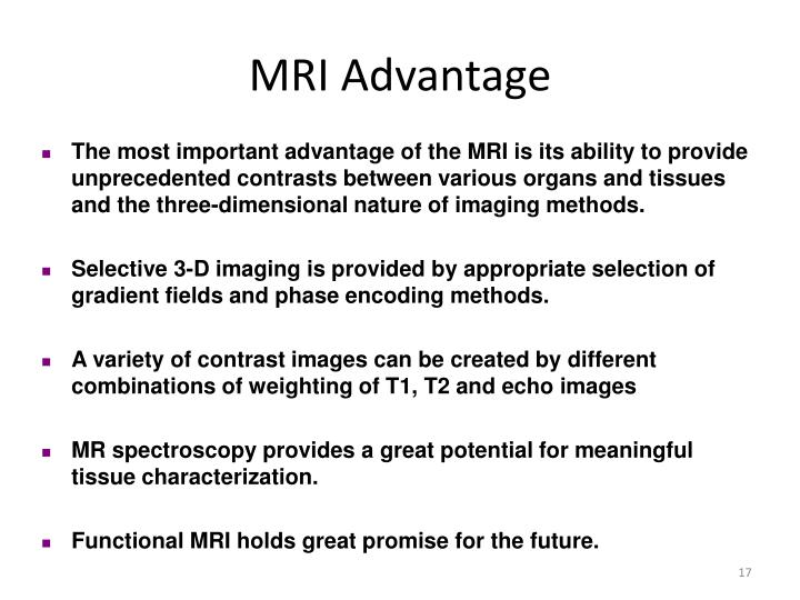 MRI Advantage