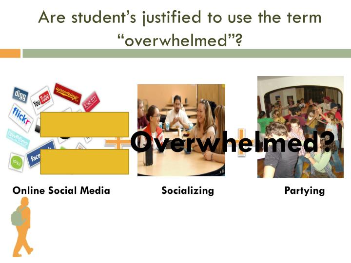 "Are student's justified to use the term ""overwhelmed""?"