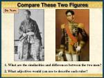 compare these two figures