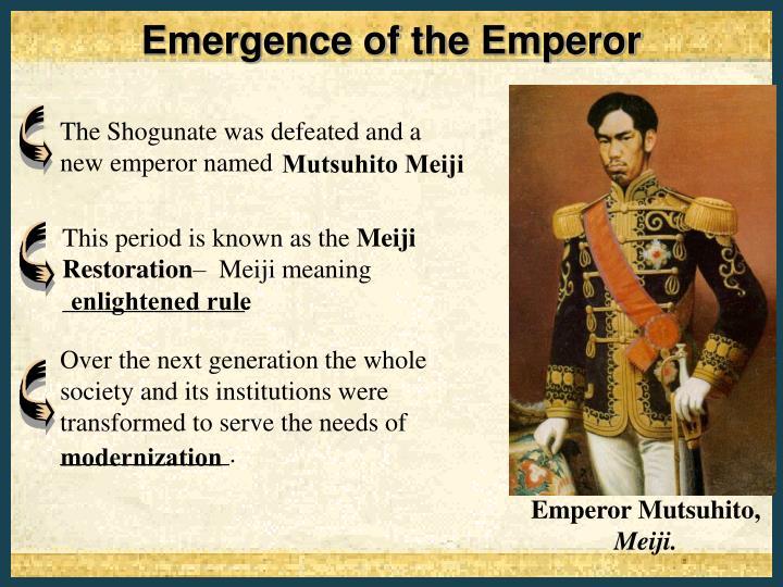Emperor Mutsuhito,
