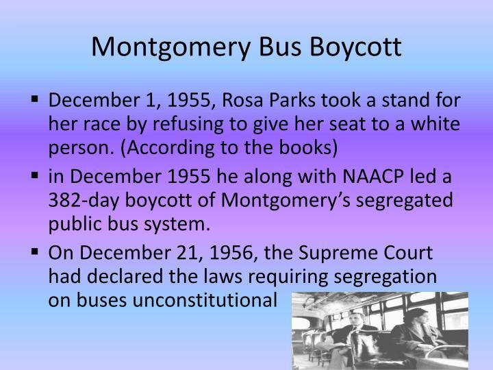 Montgomery Bus