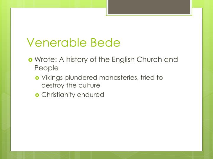 Venerable Bede