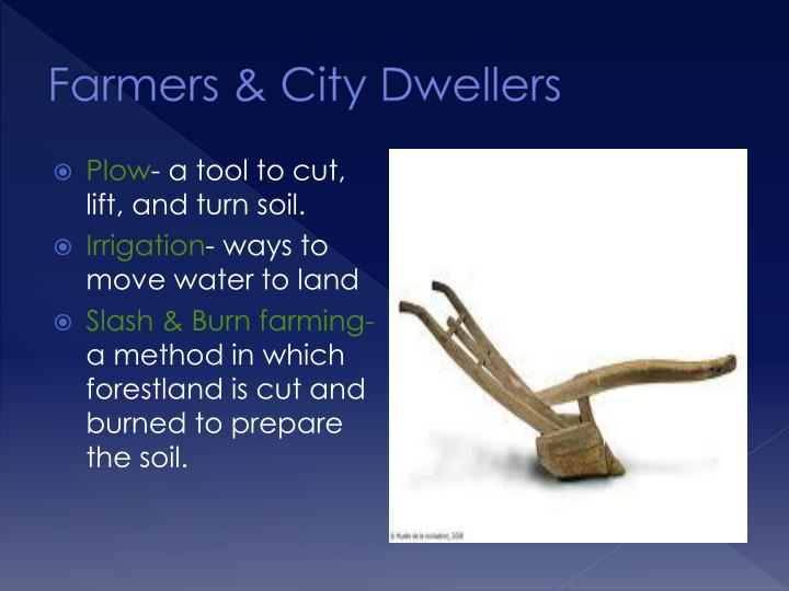 Farmers & City Dwellers