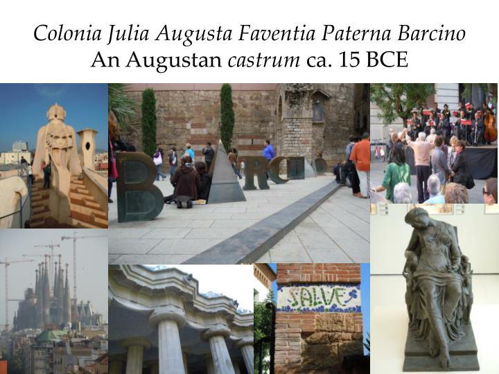 Colonia Julia Augusta