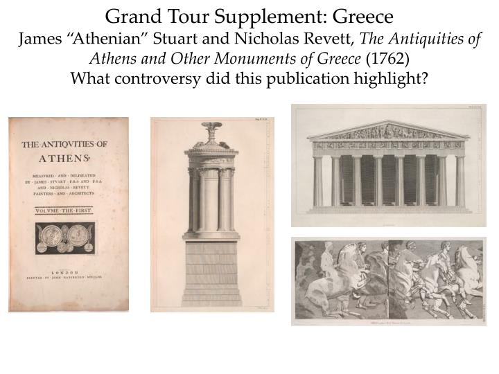 Grand Tour Supplement: Greece