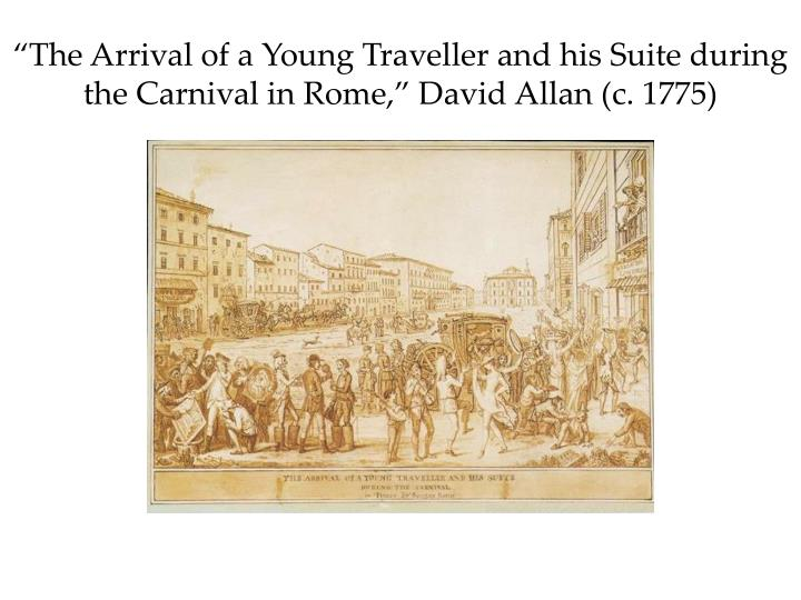 """The Arrival of a Young"