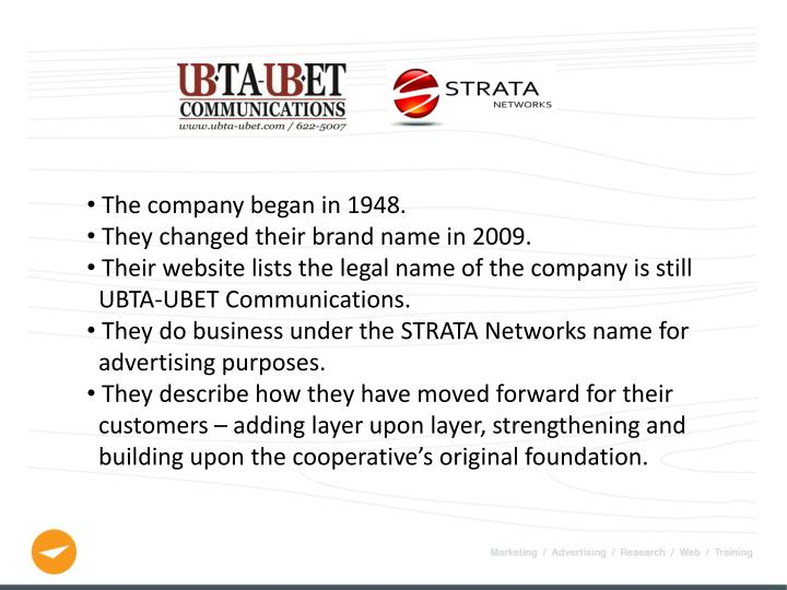 The company began in 1948.